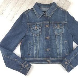 Maurices Denim Jean Jacket Long Sleeve Western